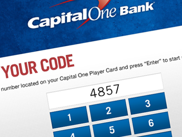 Capital One – Trivia Game iPad Application